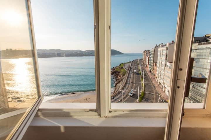 Apartamento con vistas en La Coruña
