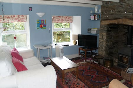 Nr Port Isaac,romantic cottage,beach,walks,pets ok - Maison