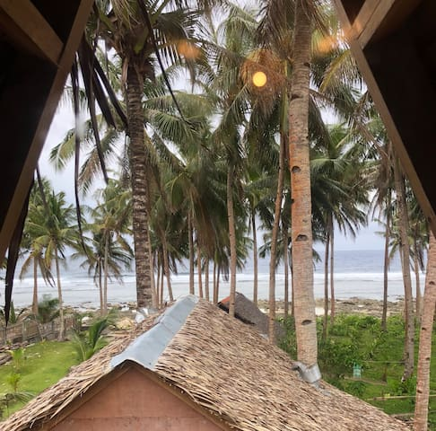 Tuason SurfSpot Duplex, OceanView - Tarzan's B&B