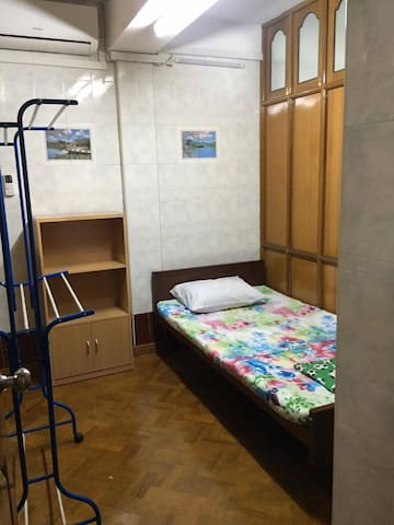 Single Bedroom in Yangon Downtown - Yangon - Hus