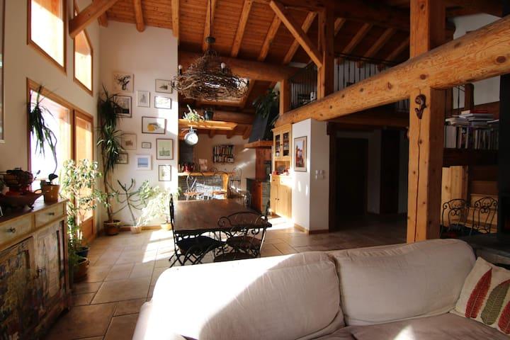 Chalet au coeur de montagne, chambre privée