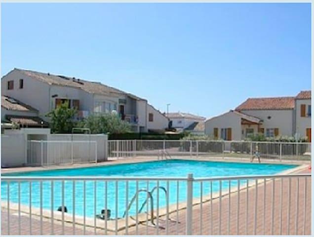 Appart avec terrasse et piscine proche de la plage - Vaux-sur-Mer - Apto. en complejo residencial