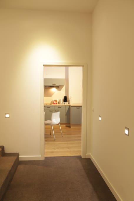 Eingang Appartament