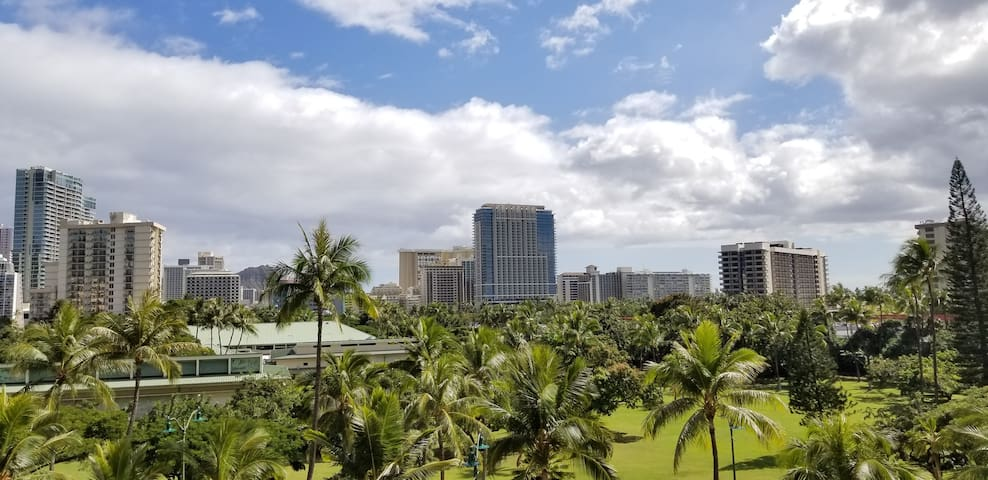 Lovely Waikiki Condo w/ View & Free Parking!