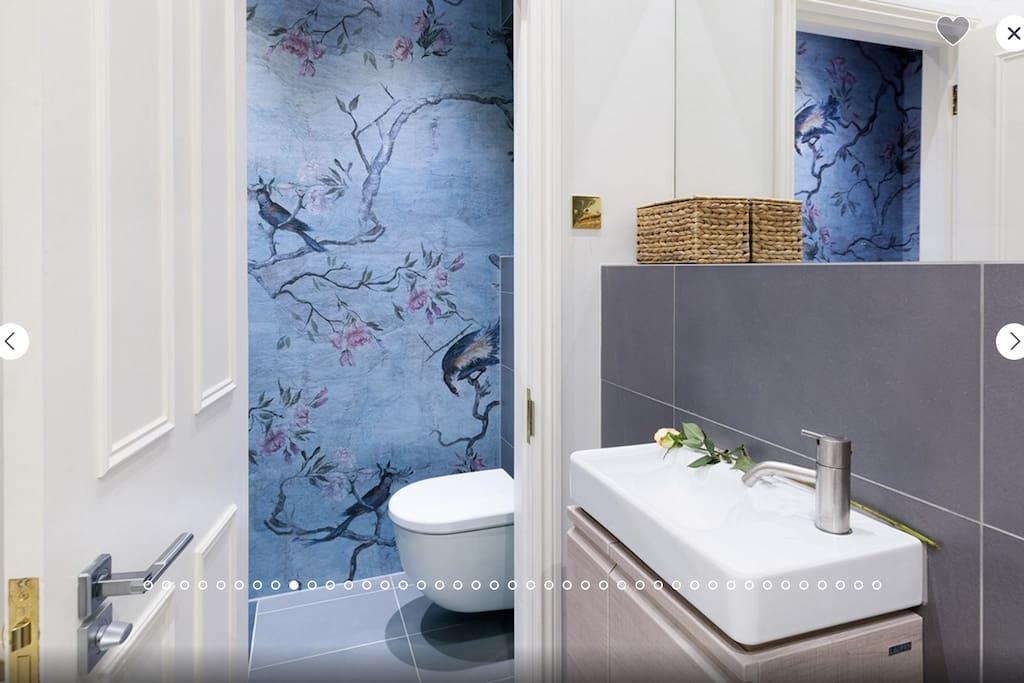 Ensuite bathroom/shower and dressing area