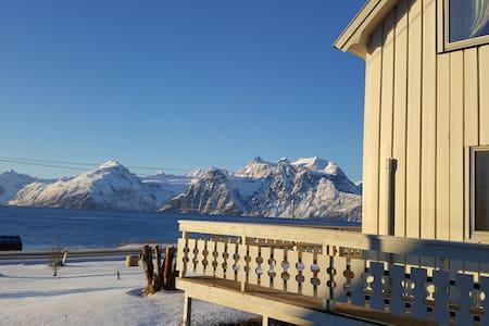 Lyngen Arctic View- Summit skiing + Northern Light