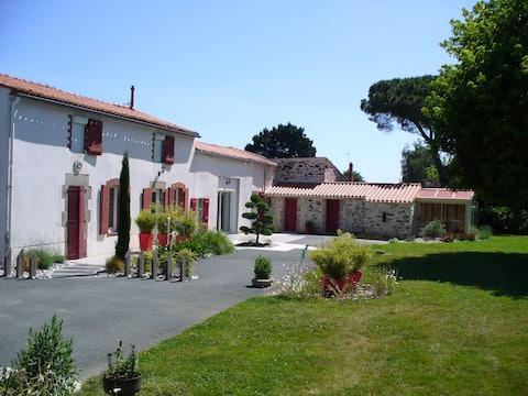Chambre d'Hôtes  en Vendée