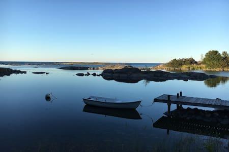 Sommarstuga vid Ålands hav