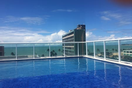 Flat para temporada praia CABO BRANCO João Pessoa