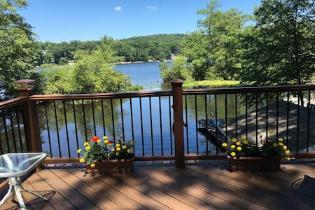 3BR LAKEFRONT HOME Kayak Canoe Bike - Byram Township - Σπίτι