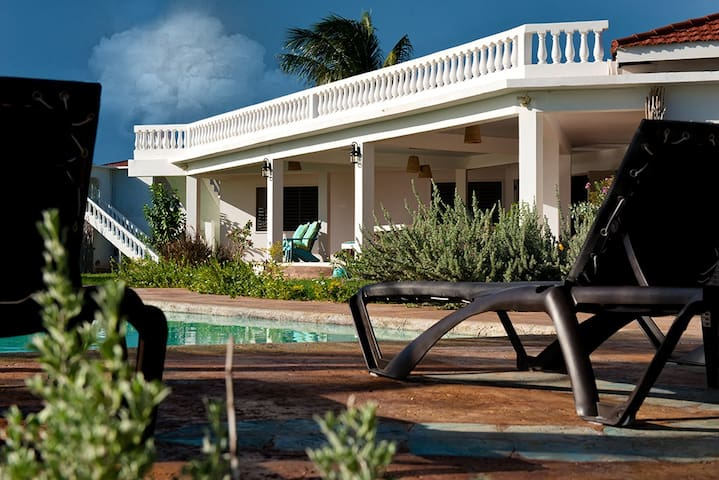 Tallawah:  Private beachfront villa with pool. - Treasure Beach - Villa