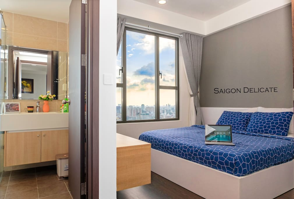 Spacious and clean bedroom for your comfortable sleep