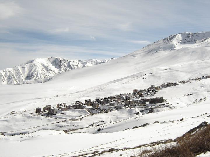 Amazing! La Parva 2BR  + 6 guests + near ski lifts