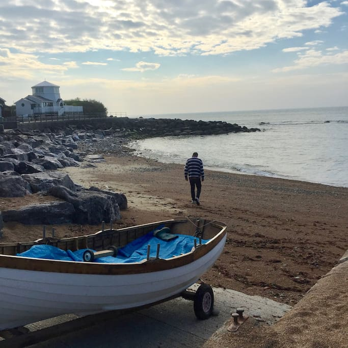 May - early morning Steephill Cove. Has to be accessed by foot so a bit like going back in time.