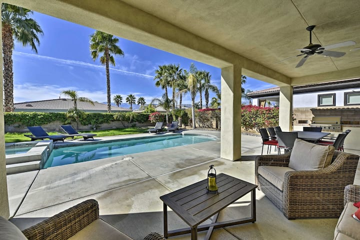 Spacious Palm Desert Home w/Pool & Jacuzzi by Golf