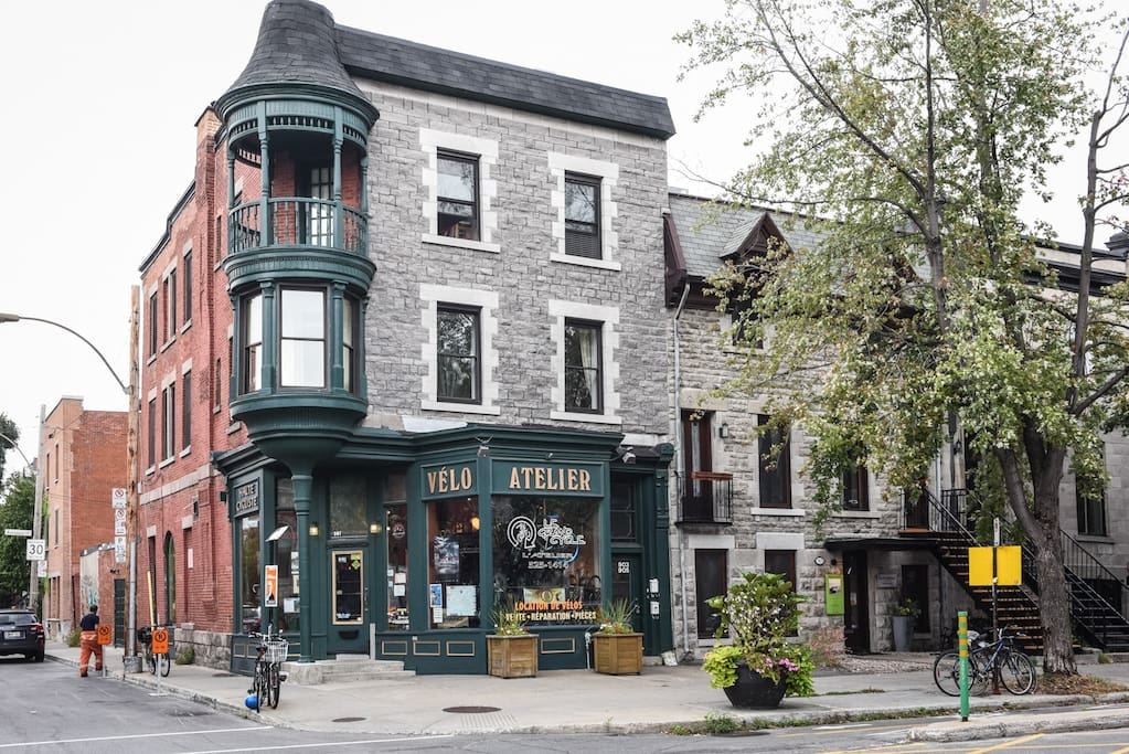 Classic Montreal-style building!