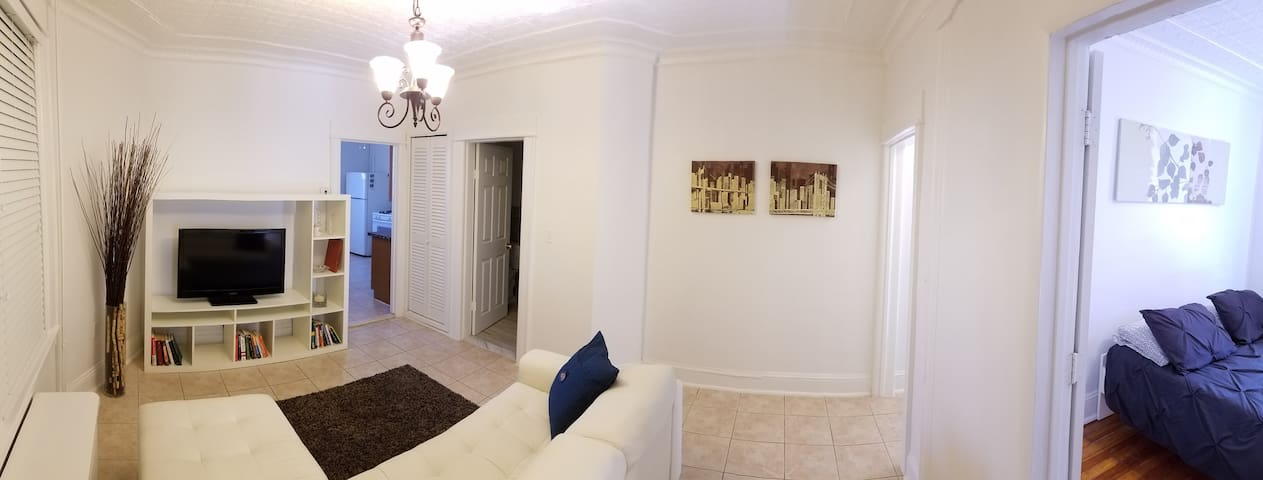 15min to NYC w/AMAZING City views, new renovation! - West New York - Διαμέρισμα