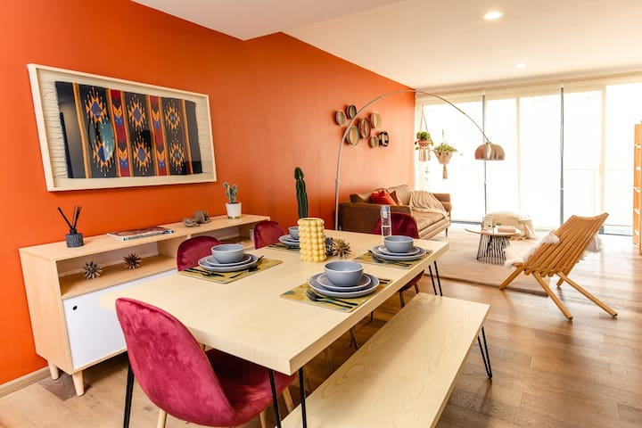 Spacious Designer Home in the Heart of CDMX!