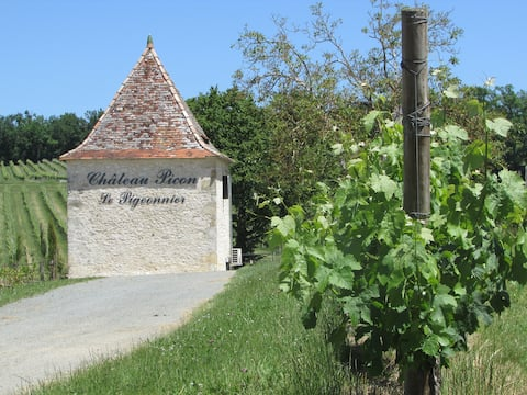 The Pigeonnier at Chateau Picon