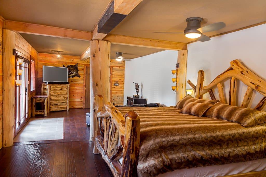 Main Master Bedroom Suite Downstairs