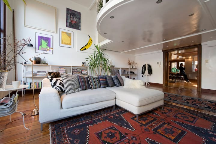 Stunning Loft in heart of Antwerp - Antwerpen - Loft