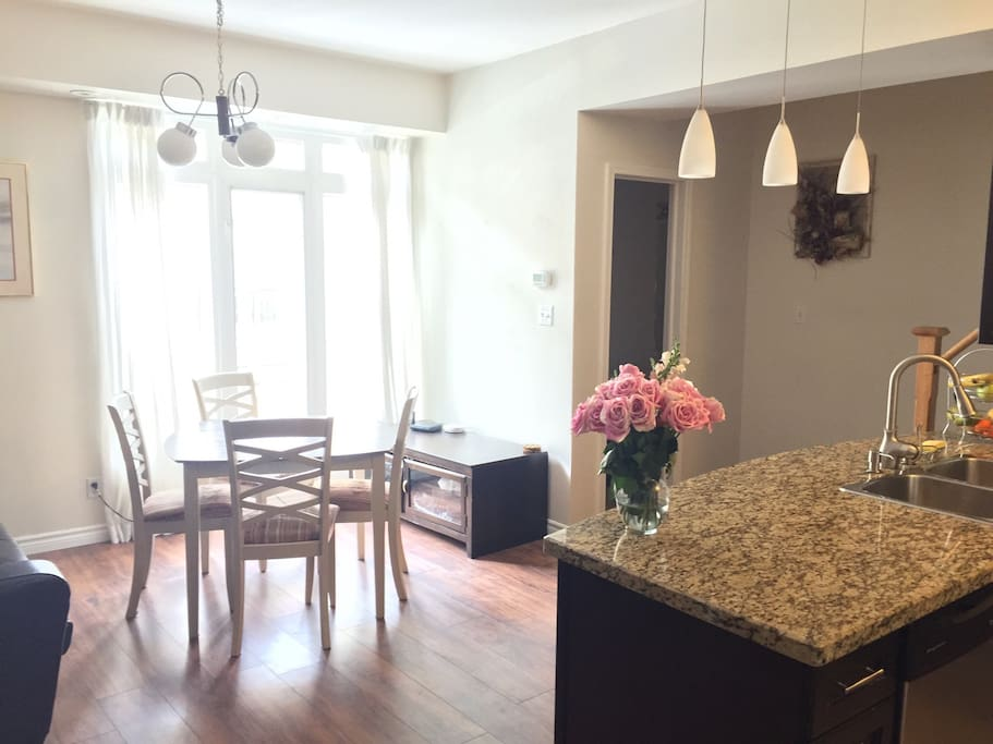 Spacious Master Bedroom In 3 Storey Townhouse Townhouses For Rent In Toronto Ontario Canada