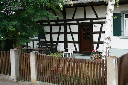 Gemütliches altes Fachwerkhaus mit Vorgarten - Kehl - Haus