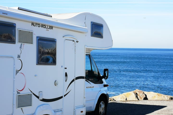 Modern motorhome to explore Portugal