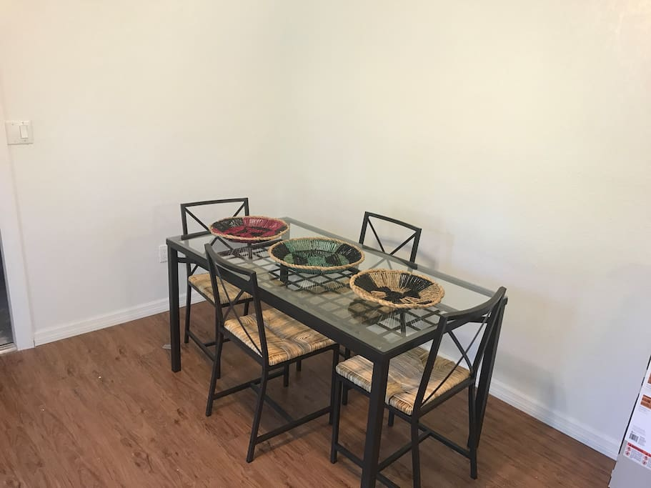 Breakfast and Dining nook