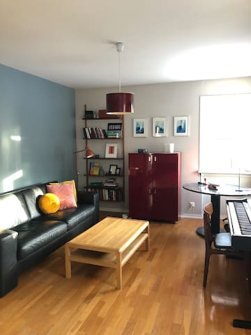 A beautiful apartment close to downtown Reykjavík.