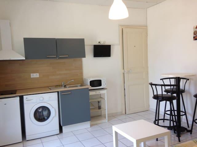 Joli Appartement 40m2 Beziers Centre, 10 min plage - Béziers - Flat
