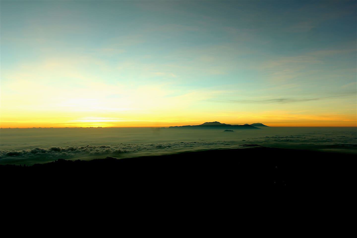 Start Your Mood with a Fab Sunrise seen from Puncak B29