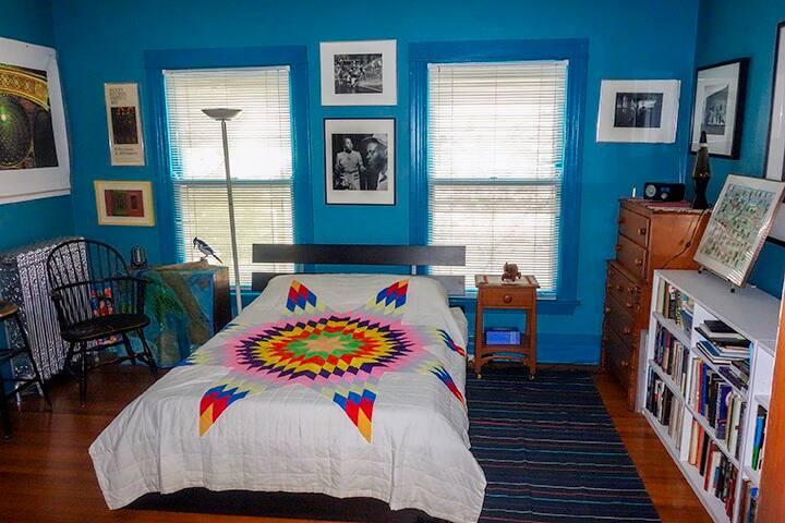 Bedroom in Beautiful Victorian Home