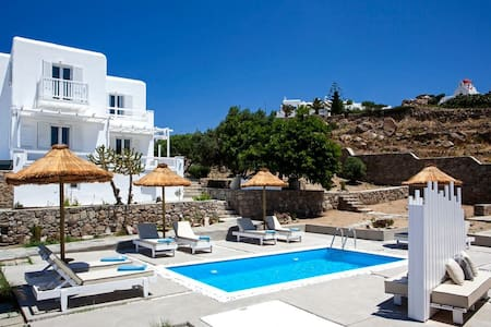 Luxurious Prive Villa -2 persons- near Ornos Beach - Ornos - Villa
