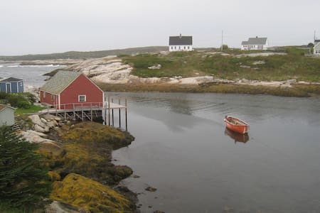 Sun drenched cottage on the ocean - Peggys Cove - Ház