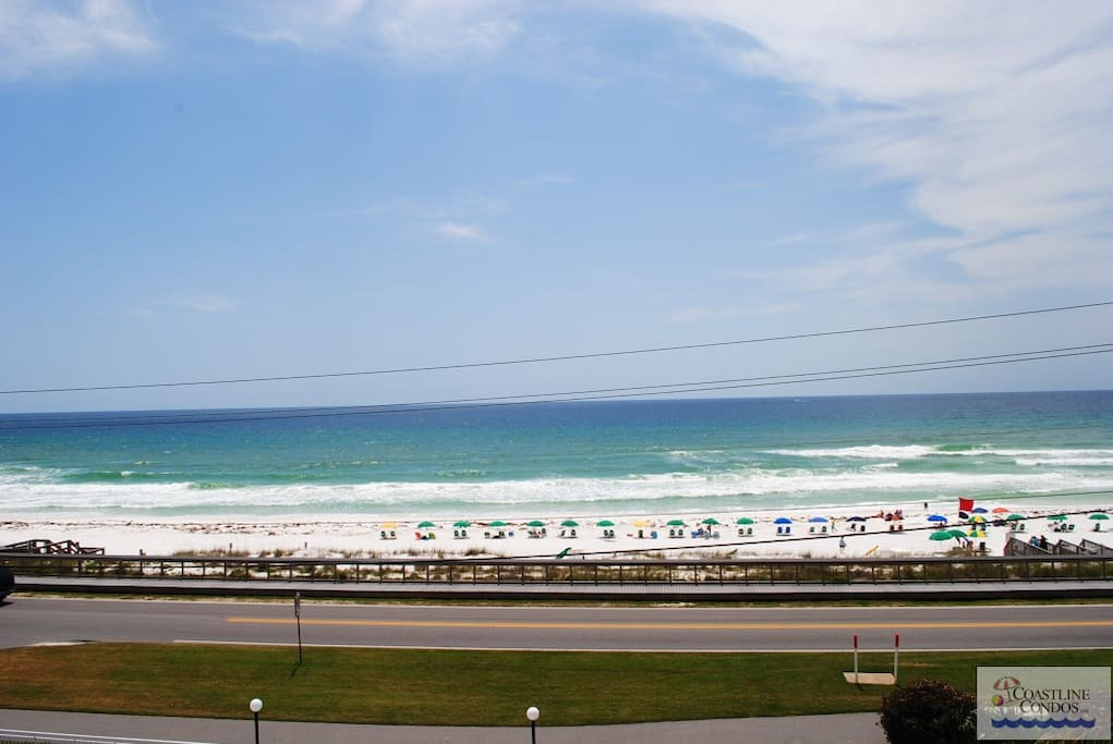 Gorgeous Beachfront View from Your Balcony