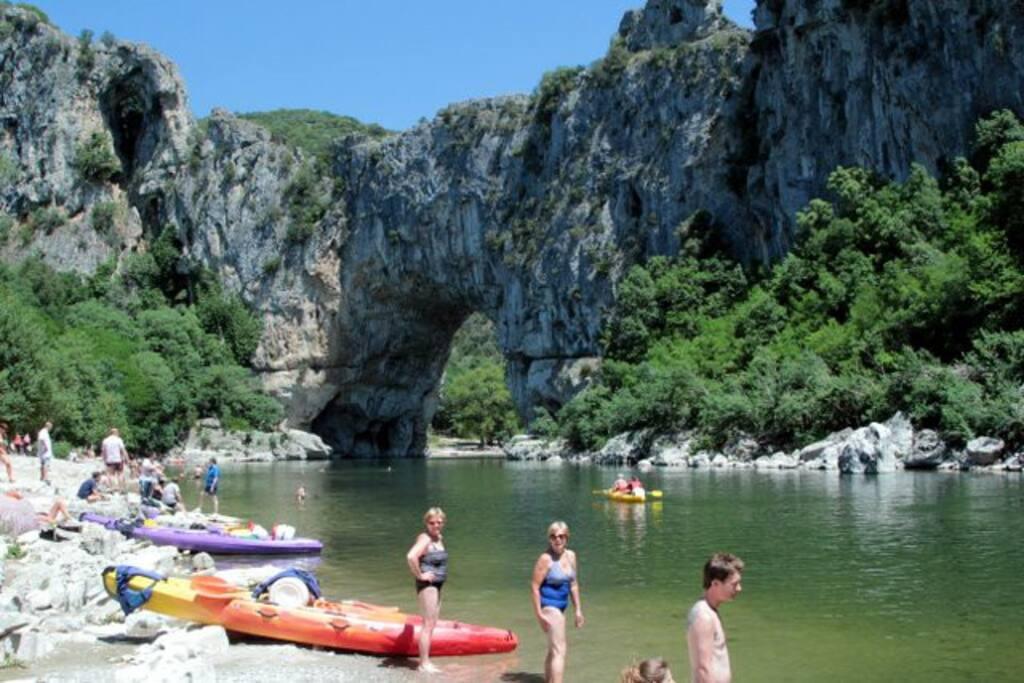 Le Pont d'Arc sur l'Ardèche