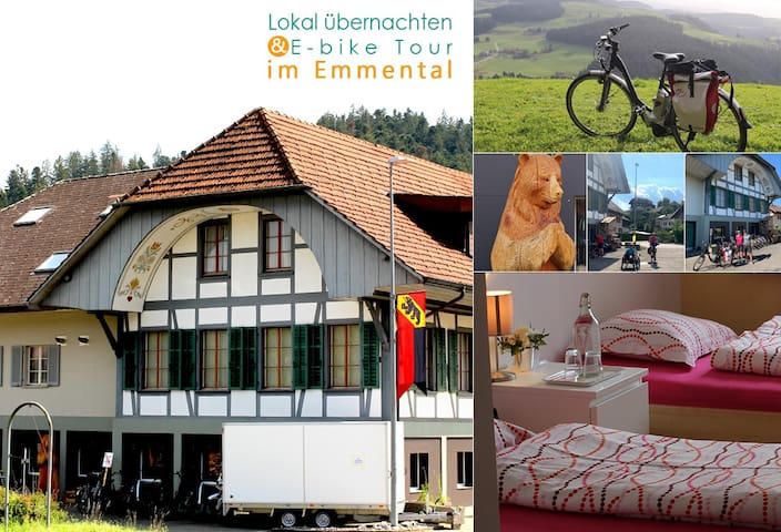 B&B in Emmental (good for Ebike tour)