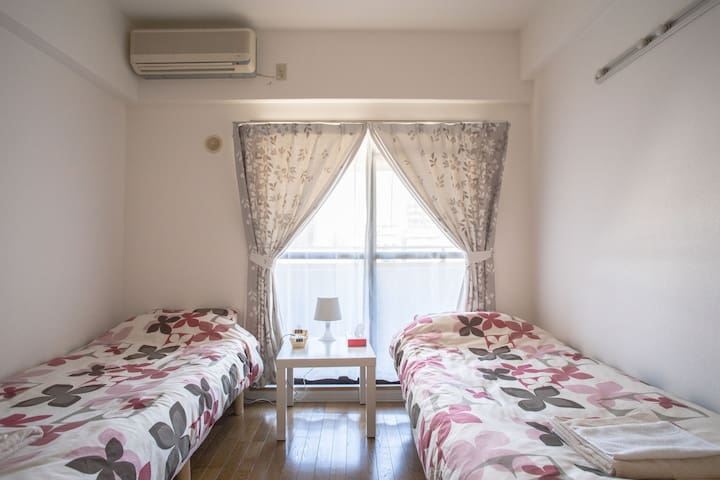 A stone's throw from JR Namba station (OCAT) - Chuo Ward, Osaka - Appartement