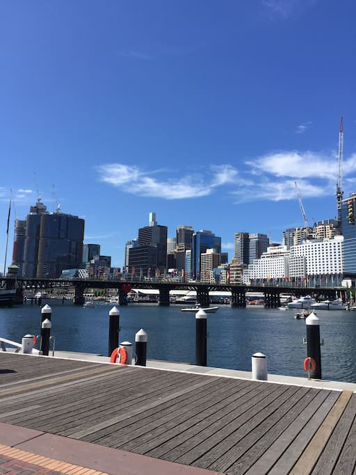 Walk to Darling Harbour