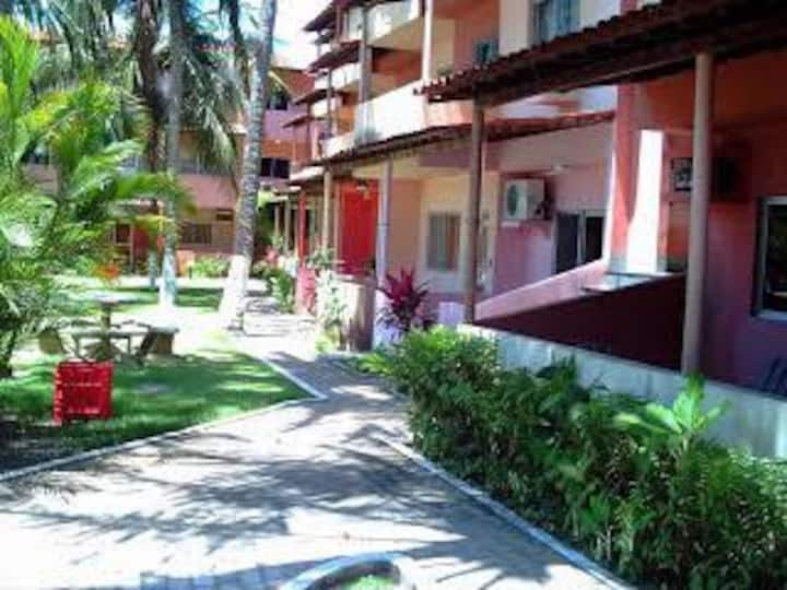 Apartamento aconchegante em Barra de São Miguel