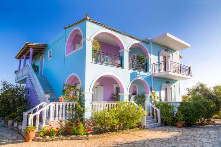 Villa Joanna Colorful Flowers Studio