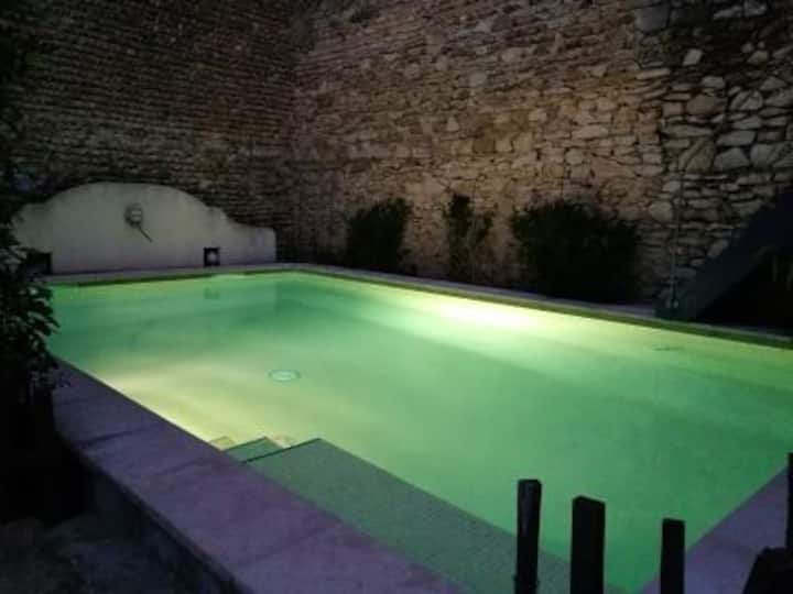 Family room in Camargue with pool