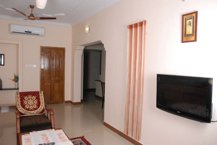 A 2 BHK Comfort Apartment in Heart of the city - Puducherry - Appartement