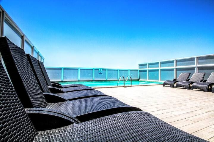 BBA225 TWO BEDROOM SEA VIEW APARTMENT - Il-Gżira - Huoneisto