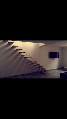 Chambre grange rénovée - Espira-de-l'Agly - House