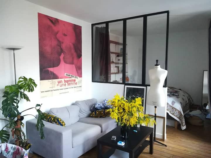 Appartement lumineux et cosy à Montmartre