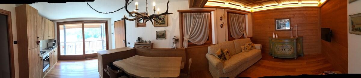 Appartamento km da cortina wohnungen zur miete in vodo di