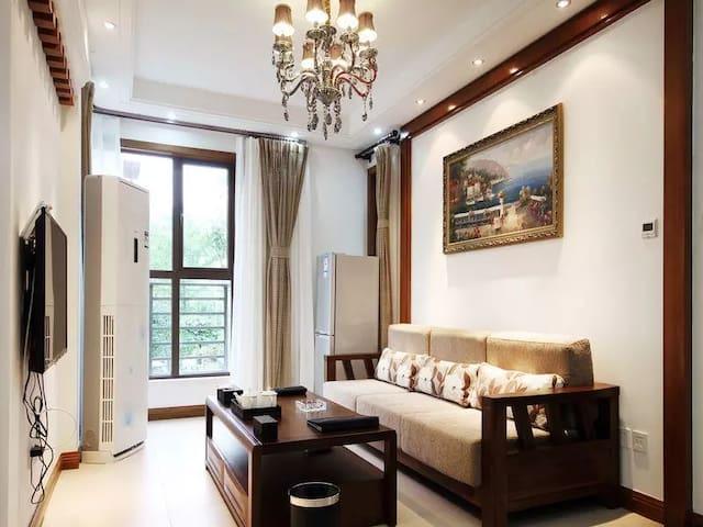 青城山下度假洋房家庭出游、亲友出行首选 - Chengdu - Apartamento com serviços incluídos