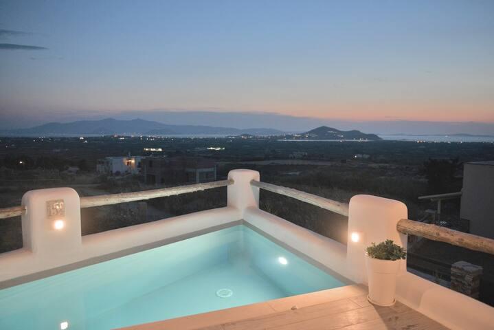 Naxian Album VILA ERATO with private pool in Naxos
